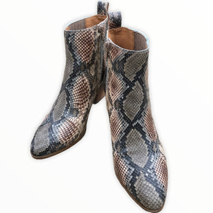 Primary Photo - BRAND: FRYE STYLE: BOOTS ANKLE COLOR: SNAKESKIN PRINT SIZE: 8 SKU: 220-220138-26776