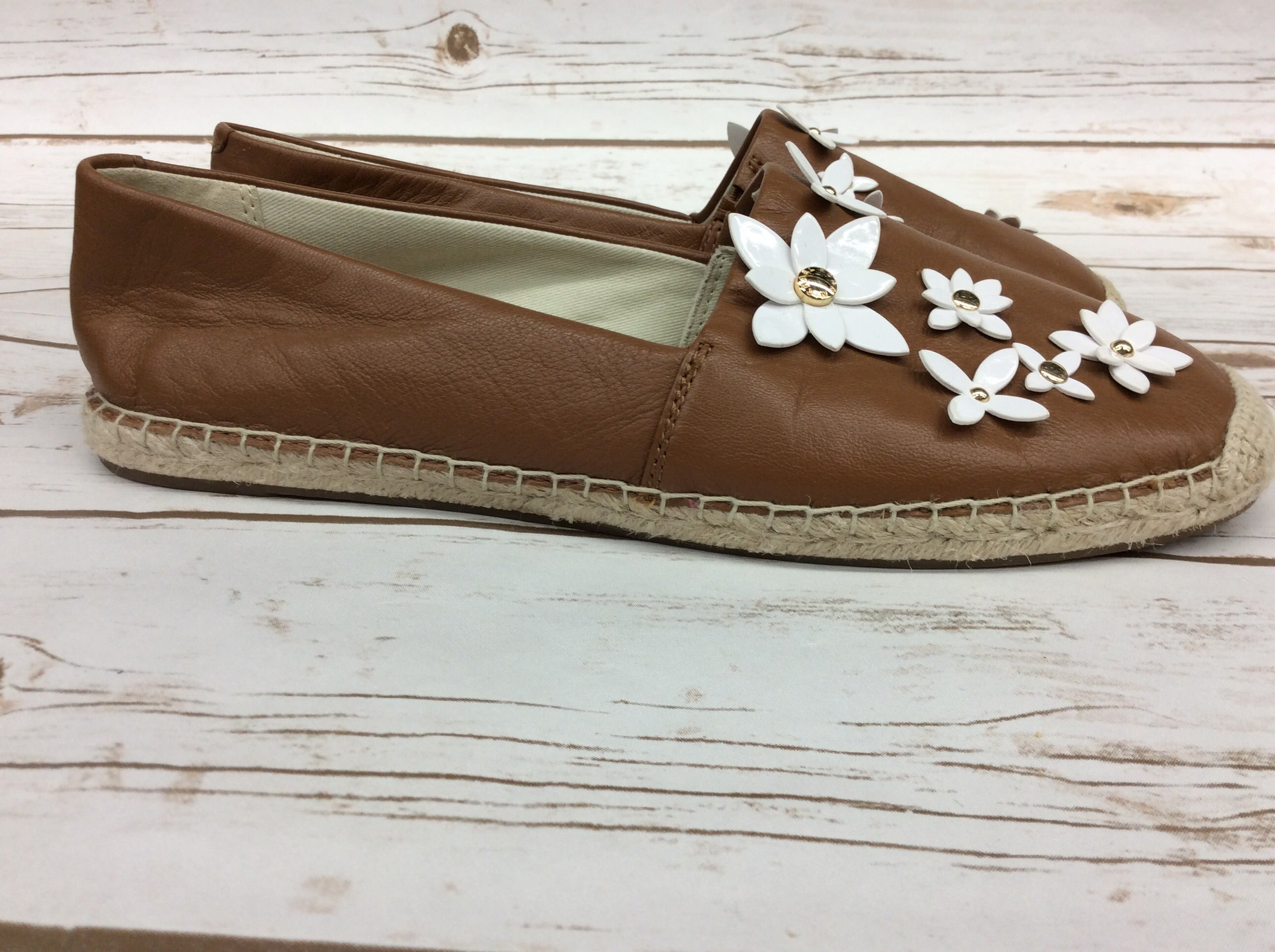 Photo #1 - BRAND: MICHAEL BY MICHAEL KORS <BR>STYLE: SHOES FLATS <BR>COLOR: CAMEL <BR>SIZE: 9 <BR>SKU: 220-220120-7179