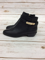 Photo #1 - BRAND: COACH <BR>STYLE: BOOTS ANKLE <BR>COLOR: BLACK <BR>SIZE: 6.5 <BR>OTHER INFO: AS IS <BR>SKU: 220-220153-4536
