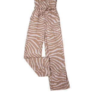 Primary Photo - BRAND: H&M STYLE: DRESS LONG SLEEVELESS COLOR: TAN SIZE: 6 SKU: 220-22090-6424JUMPSUIT