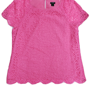 Primary Photo - BRAND: J CREW O STYLE: TOP SHORT SLEEVE COLOR: PINK SIZE: M SKU: 220-220138-27501