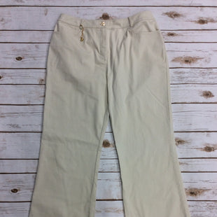 Primary Photo - BRAND: ST JOHN COLLECTION STYLE: PANTS COLOR: KHAKI SIZE: 12 SKU: 220-22012-34100