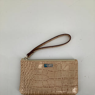 Primary Photo - BRAND: KATE SPADE , STYLE: WRISTLET , COLOR: TAN , SKU: 105-4940-2883