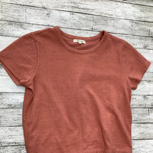 Primary Photo - BRAND: MADEWELL , STYLE: TOP SHORT SLEEVE BASIC , COLOR: ROSE , SIZE: S , SKU: 105-3221-13497