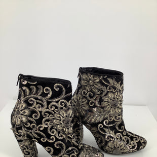 Primary Photo - BRAND:    CMD , STYLE: BOOTS ANKLE , COLOR: BLACK SILVER , SIZE: 6.5 , OTHER INFO: WILD DIVA - , SKU: 105-3221-11999