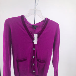 Primary Photo - BRAND: J CREW , STYLE: SWEATER CARDIGAN LIGHTWEIGHT , COLOR: FUSCHIA , SIZE: S , OTHER INFO: NEW! , SKU: 105-3221-7744