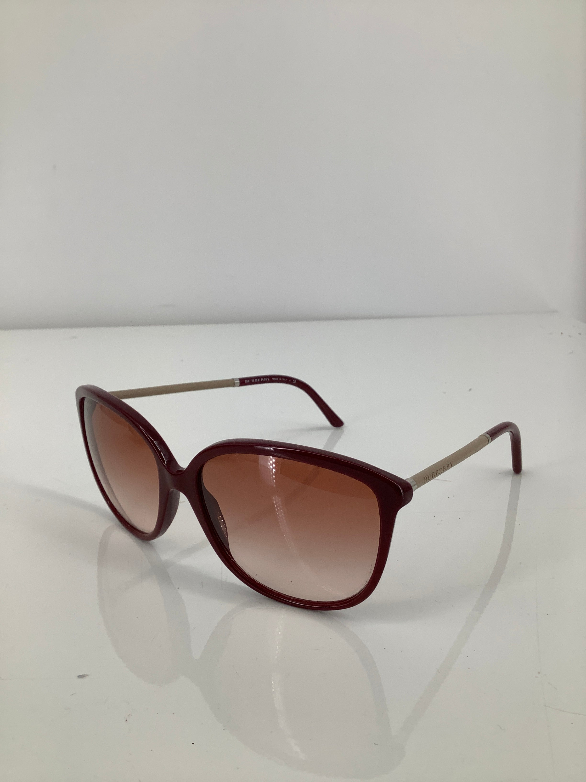 Photo #1 - brand: burberry , style: sunglasses , color: maroon , sku: 105-5184-5892