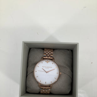 Primary Photo - BRAND:  CMB , STYLE: WATCH , COLOR: GOLD , OTHER INFO: OLIVIA BURTON QUEEN BEE - , SKU: 105-4605-9196