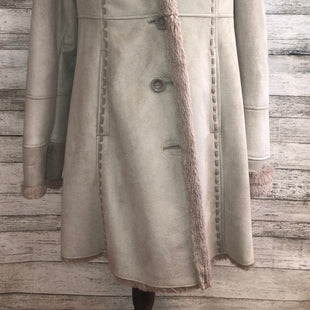 Primary Photo - BRAND: JONES NEW YORK , STYLE: COAT SHORT , COLOR: GREY , SIZE: M , SKU: 105-3752-26328
