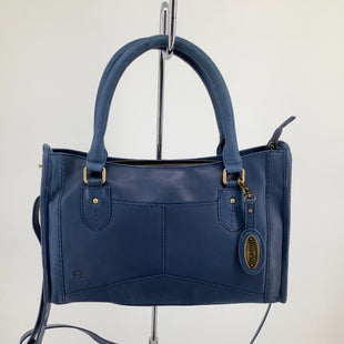 Primary Photo - BRAND: BORN , STYLE: HANDBAG LEATHER , COLOR: BLUE , SIZE: LARGE , SKU: 105-3221-13928