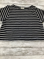 Photo #1 - BRAND: MADEWELL , STYLE: TOP SHORT SLEEVE BASIC , COLOR: STRIPED , SIZE: L , SKU: 105-4940-4094