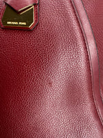 Photo #4 - BRAND: MICHAEL KORS , STYLE: HANDBAG DESIGNER , COLOR: BURGUNDY , SIZE: LARGE , OTHER INFO: AS IS DUE TO COSMETIC WEAR. AS SEEN IN PICTURES, SKU: 105-3752-29907
