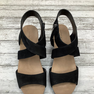 Primary Photo - BRAND: LUCKY BRAND O STYLE: SANDALS COLOR: BLACK SIZE: 9.5 SKU: 105-3221-10501
