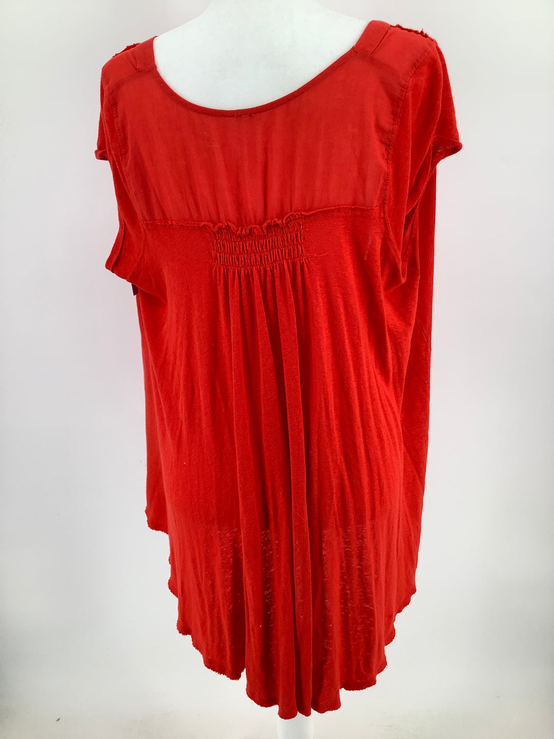 Photo #1 - BRAND: FREE PEOPLE , STYLE: TOP SHORT SLEEVE , COLOR: RED , SIZE: S , SKU: 105-4864-141