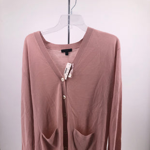 Primary Photo - BRAND: J CREW O , STYLE: SWEATER CARDIGAN LIGHTWEIGHT , COLOR: PINK , SIZE: L , OTHER INFO: NEW! , SKU: 105-4940-2389