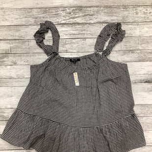 Primary Photo - BRAND: MADEWELL , STYLE: TOP SLEEVELESS , COLOR: GINGHAM , SIZE: 14 , OTHER INFO: NEW! , SKU: 105-4940-6088