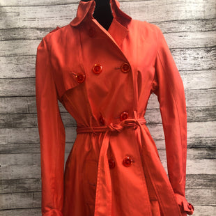 Primary Photo - BRAND: BETSEY JOHNSON , STYLE: JACKET OUTDOOR , COLOR: ORANGE , SIZE: S , SKU: 105-3752-28187