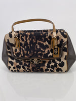 Photo #4 - BRAND: COACH , STYLE: HANDBAG , COLOR: ANIMAL PRINT , SIZE: MEDIUM , SKU: 105-3221-5536