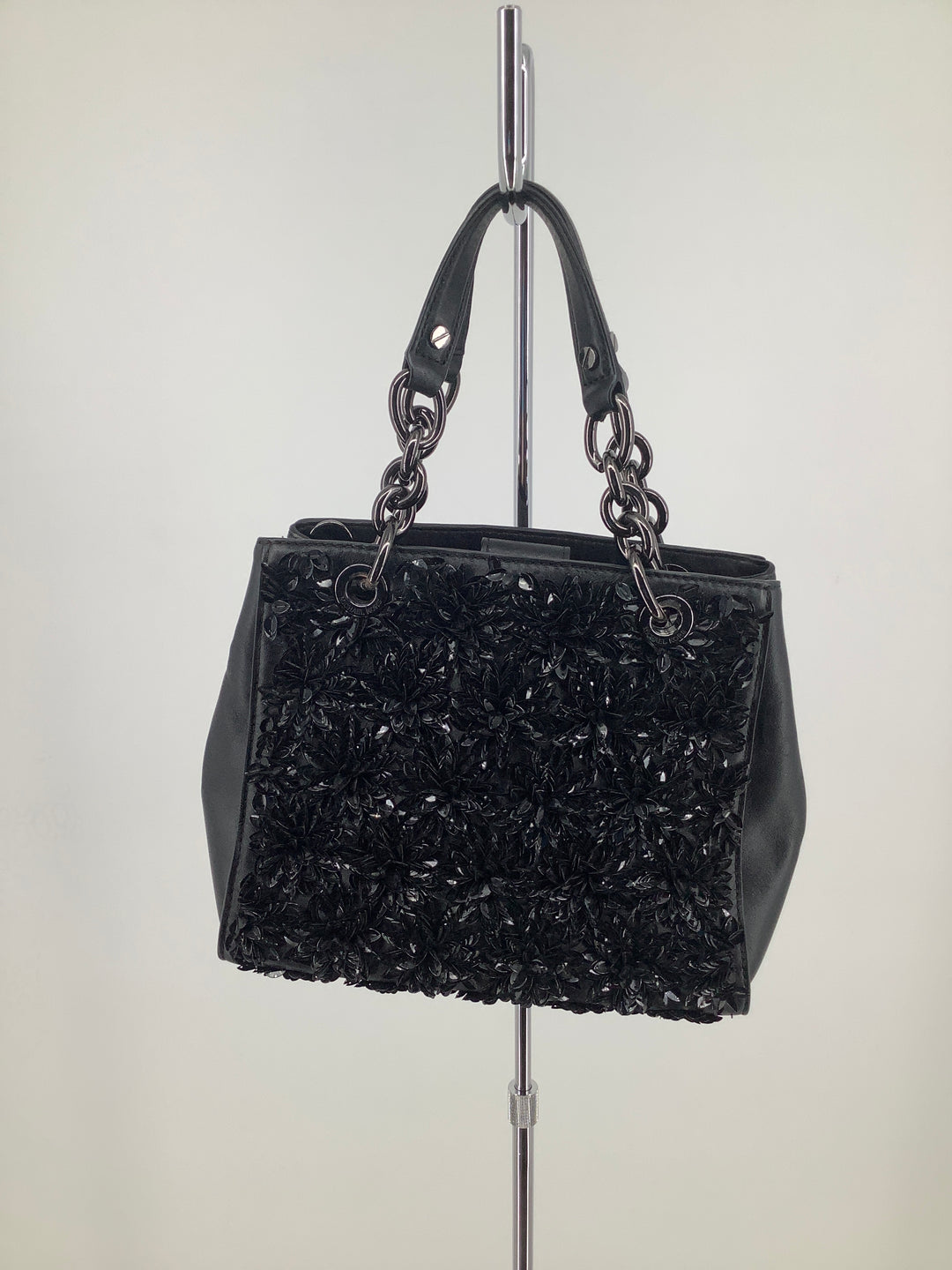 Primary Photo - brand: michael kors , style: handbag designer , color: black , size: small , sku: 105-2768-27455, missing long strap