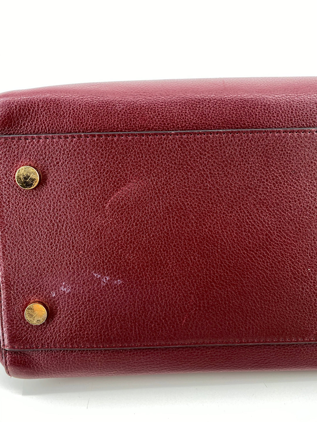 Photo #5 - BRAND: MICHAEL KORS , STYLE: HANDBAG DESIGNER , COLOR: BURGUNDY , SIZE: LARGE , OTHER INFO: AS IS DUE TO COSMETIC WEAR. AS SEEN IN PICTURES, SKU: 105-3752-29907