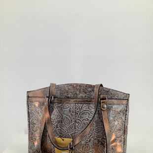 Primary Photo - BRAND: PATRICIA NASH , STYLE: HANDBAG DESIGNER , COLOR: GREY , SIZE: MEDIUM , SKU: 105-4189-2207