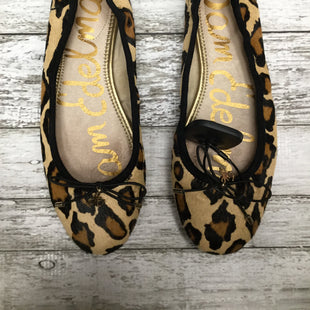 Primary Photo - BRAND: SAM EDELMAN , STYLE: SHOES FLATS , COLOR: ANIMAL PRINT , SIZE: 6.5 , SKU: 105-4605-8303