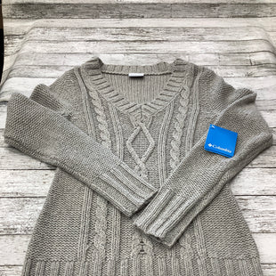 Primary Photo - BRAND: COLUMBIA , STYLE: SWEATER , COLOR: GREY , SIZE: XS , OTHER INFO: NEW! , SKU: 105-4605-9103