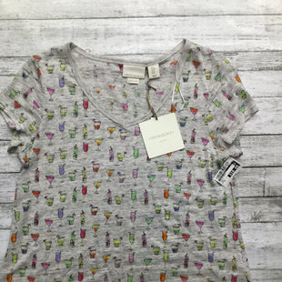 Primary Photo - BRAND: CYNTHIA ROWLEY , STYLE: TOP SHORT SLEEVE BASIC , COLOR: PRINT , SIZE: M , OTHER INFO: NEW! , SKU: 105-4605-6611