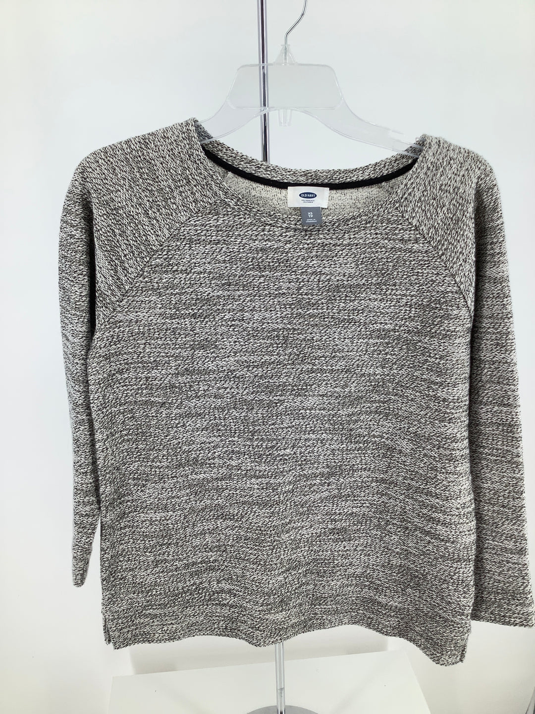 Primary Photo - brand: old navy , style: top long sleeve , color: black white , size: xs , sku: 105-4940-6703