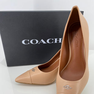 Primary Photo - BRAND: COACH STYLE: SHOES DESIGNER COLOR: ROSE SIZE: 9.5 SKU: 105-3221-11159NWOT COMES WITH BOX