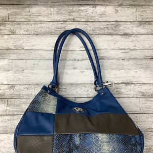 Primary Photo - BRAND: GUESS , STYLE: HANDBAG , COLOR: BLUE , SIZE: MEDIUM , SKU: 105-4940-2711