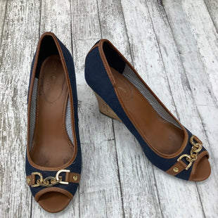 Primary Photo - BRAND: TOMMY HILFIGER , STYLE: SHOES HIGH HEEL , COLOR: NAVY , SIZE: 9.5 , SKU: 105-4940-3174