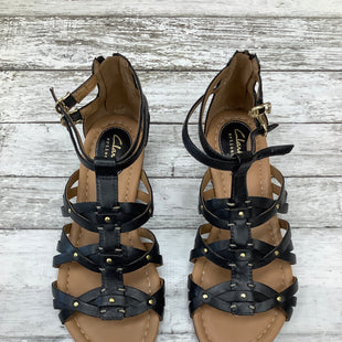 Primary Photo - BRAND: CLARKS STYLE: SANDALS COLOR: BLACK SIZE: 6.5 SKU: 105-3221-10516