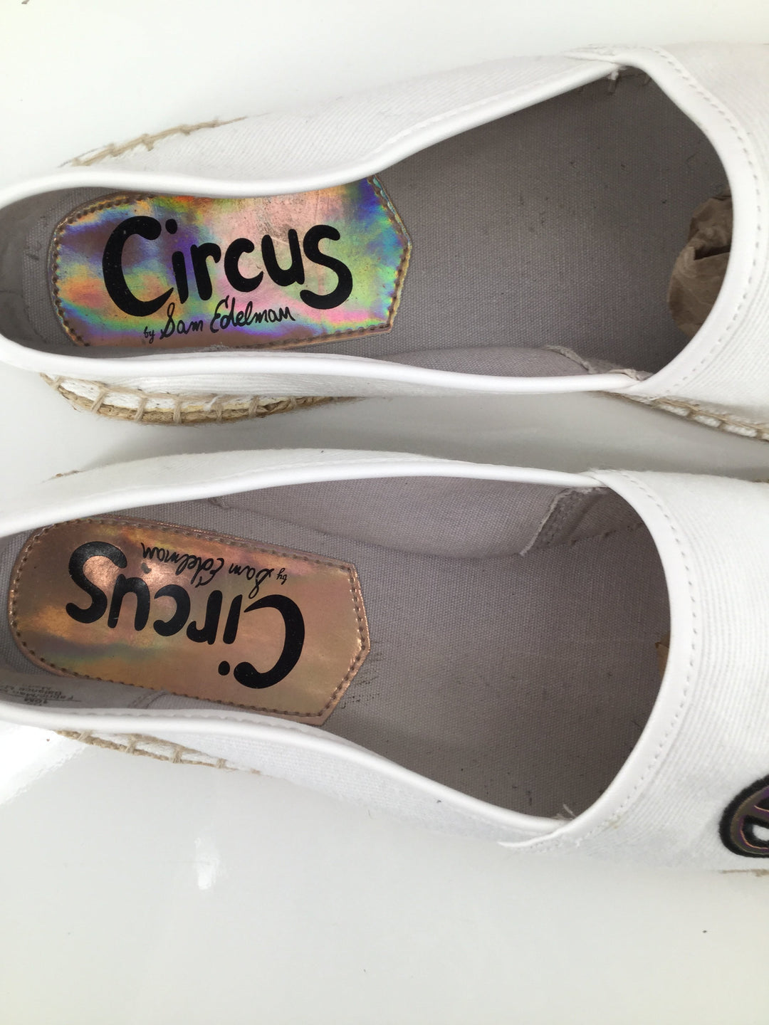 Circus By Sam Edelman Shoes Flats Size:10 - <P>FUN PAIR OF FLATS FROM CIRCUS BY SAM EDELMAN, SIZE 10.  EXCELLENT CONDITION. IT'S FIVE O'CLOCK SOMEWHERE, RIGHT?</P>