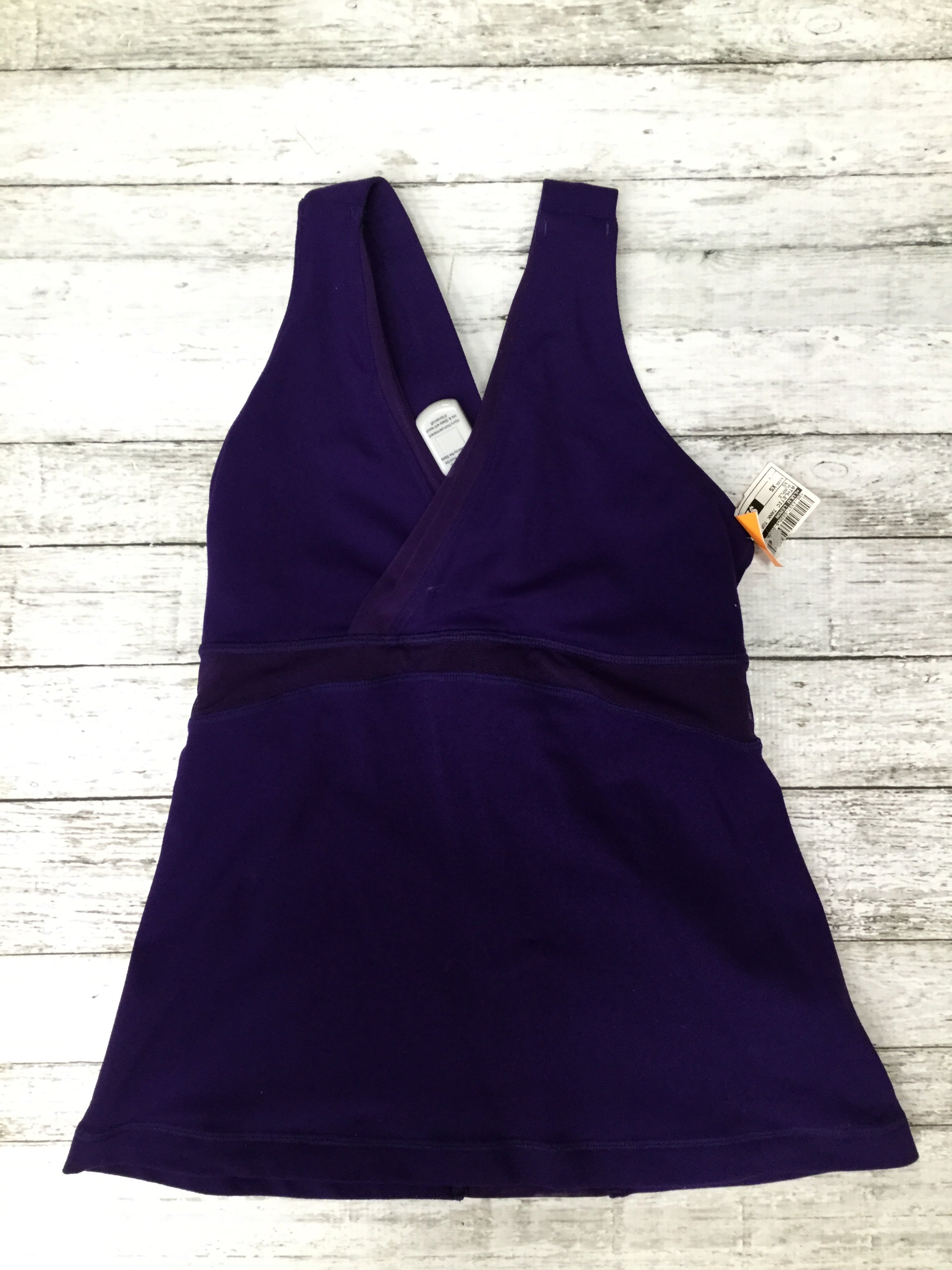 Primary Photo - BRAND: LULULEMON , STYLE: ATHLETIC TANK TOP , COLOR: PURPLE , SIZE: XS , SKU: 105-4337-5020