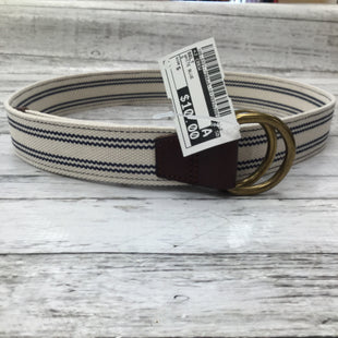 Primary Photo - BRAND: J CREW , STYLE: BELT , COLOR: WHITE BLUE , SIZE: S , SKU: 105-3221-7384