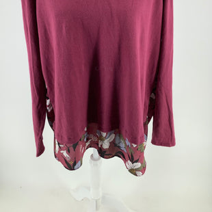Primary Photo - BRAND: LOFT , STYLE: TOP LONG SLEEVE , COLOR: MAROON , SIZE: XL , SKU: 105-3221-11683
