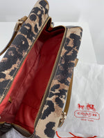 Photo #2 - BRAND: COACH , STYLE: HANDBAG , COLOR: ANIMAL PRINT , SIZE: MEDIUM , SKU: 105-3221-5536