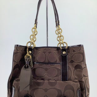 Primary Photo - BRAND: COACH , STYLE: HANDBAG DESIGNER , COLOR: BROWN , SIZE: LARGE , SKU: 105-3221-15502