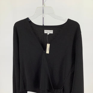 Primary Photo - BRAND: MADEWELL , STYLE: TOP LONG SLEEVE , COLOR: BLACK , SIZE: L , OTHER INFO: NEW! , SKU: 105-4940-6167