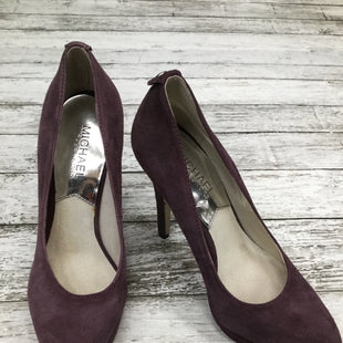 Primary Photo - BRAND: MICHAEL BY MICHAEL KORS , STYLE: SHOES HIGH HEEL , COLOR: PURPLE , SIZE: 5.5 , SKU: 105-4605-6344