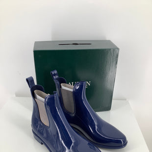 Primary Photo - BRAND: LAUREN BY RALPH LAUREN , STYLE: BOOTS RAIN , COLOR: NAVY , SIZE: 10 , OTHER INFO: FALL REVEAL , SKU: 105-2768-30968