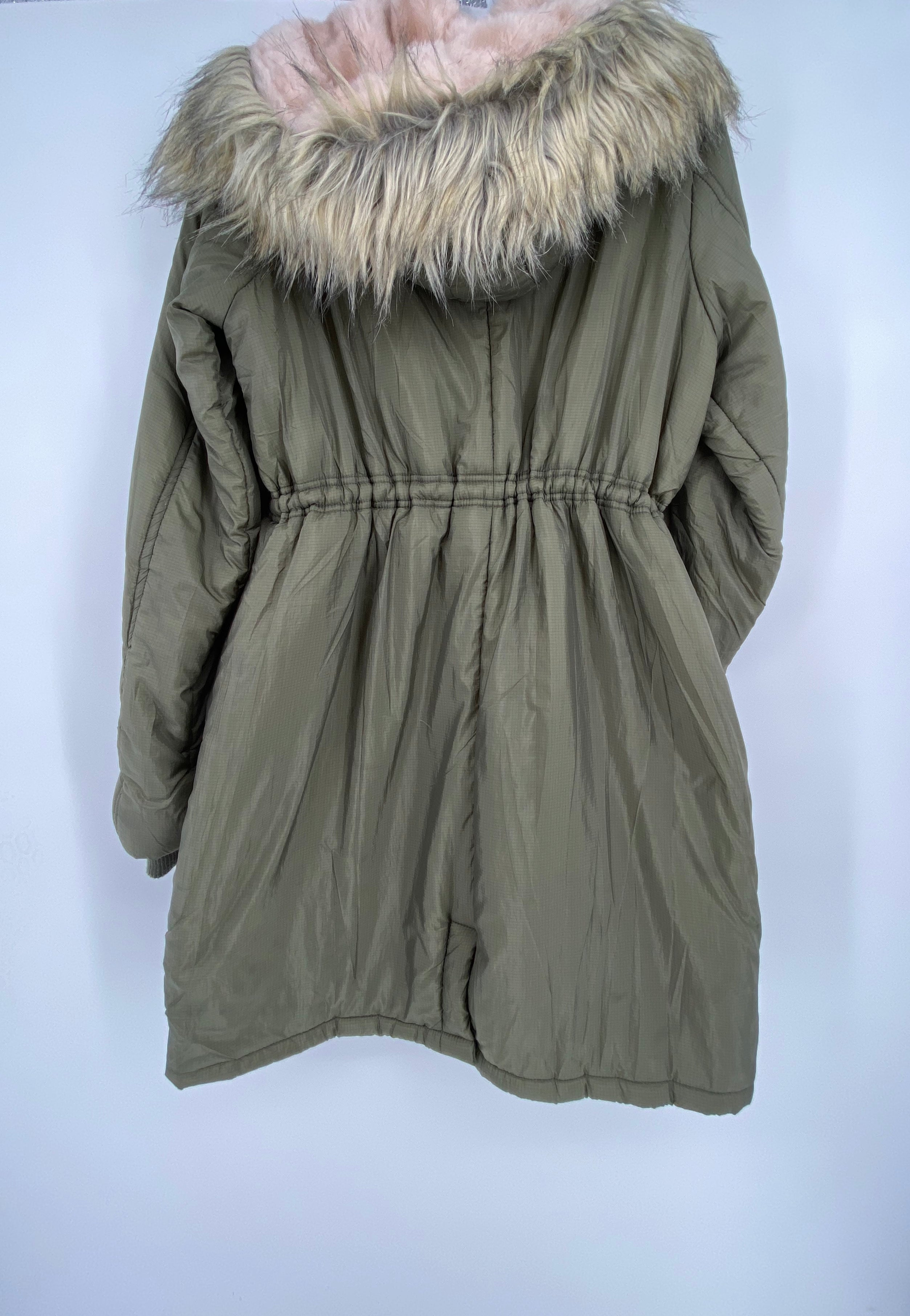 Photo #1 - BRAND: JESSICA SIMPSON , STYLE: MATERNITY COAT , COLOR: OLIVE , SIZE: M , SKU: 105-2768-29901