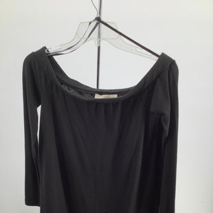 Primary Photo - BRAND: ANN TAYLOR LOFT O , STYLE: TOP LS, COLOR: BLACK , SIZE: XS , SKU: 105-4189-3413