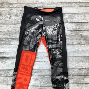 Primary Photo - BRAND: REEBOK , STYLE: ATHLETIC PANTS , COLOR: ORANGE BLACK , SIZE: S , SKU: 105-3221-11083