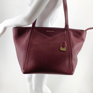 Primary Photo - BRAND: MICHAEL KORS STYLE: HANDBAG DESIGNER COLOR: BURGUNDY SIZE: LARGE OTHER INFO: AS IS DUE TO COSMETIC WEAR. AS SEEN IN PICTURESSKU: 105-3752-29907