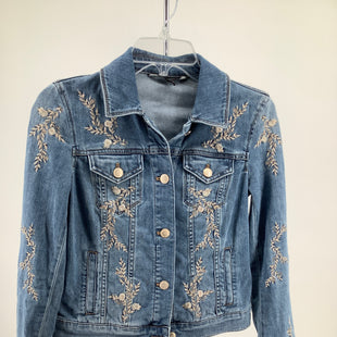 Primary Photo - BRAND: WHITE HOUSE BLACK MARKET , STYLE: DENIM JACKET , COLOR: DENIM , SIZE: XXS , OTHER INFO: FALL REVEAL , SKU: 105-3752-30855