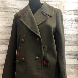 Primary Photo - BRAND: EXPRESS , STYLE: COAT WOOL , COLOR: OLIVE , SIZE: M , OTHER INFO: NEW! , SKU: 105-3221-4869
