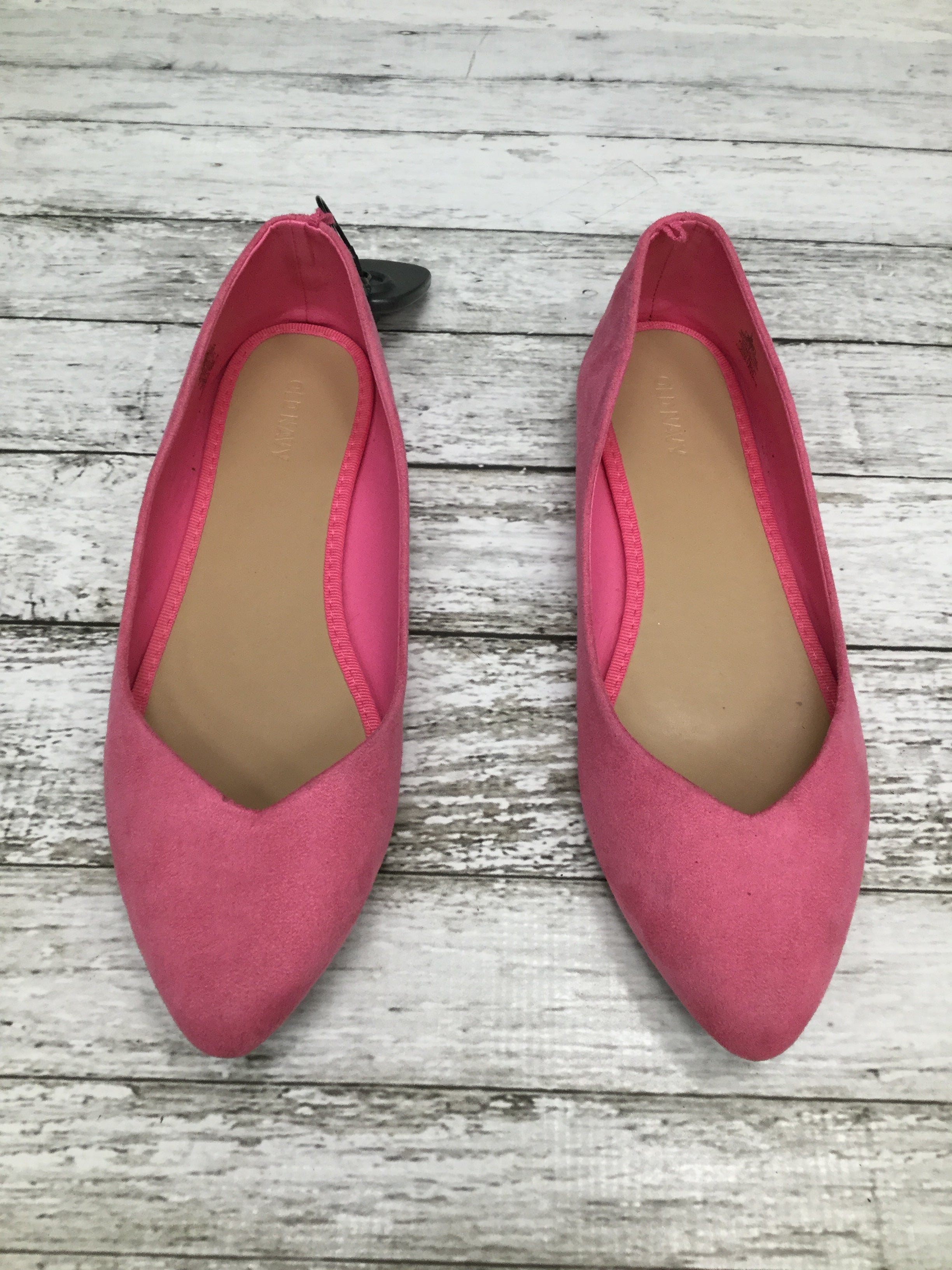Primary Photo - BRAND: OLD NAVY , STYLE: SHOES FLATS , COLOR: PINK , SIZE: 9 , SKU: 105-4940-866