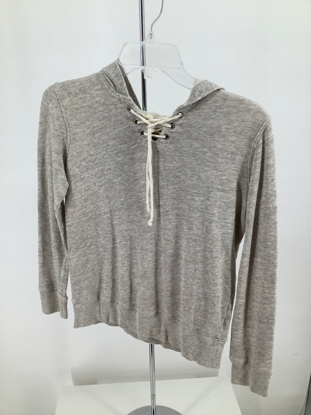 Primary Photo - brand: j crew o , style: top long sleeve , color: grey , size: xs , sku: 105-2768-25873